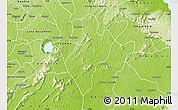 Physical Map of Juaso-Bankaman