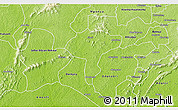 Physical 3D Map of Manso