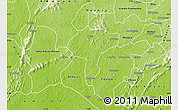 Physical Map of Manso