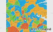 Political Map of Ashanti