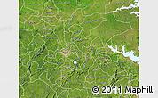 Satellite Map of Ashanti