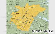 Savanna Style Map of Ashanti
