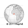 Outline Map of Ashanti