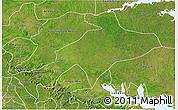 Satellite 3D Map of Sekyere