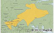 Savanna Style 3D Map of Sekyere