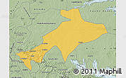 Savanna Style Map of Sekyere