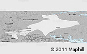 Gray Panoramic Map of Sekyere
