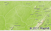 Physical 3D Map of Asutifi