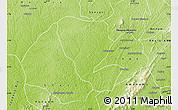 Physical Map of Asutifi