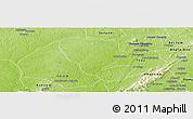 Physical Panoramic Map of Asutifi