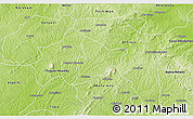 Physical 3D Map of Bechem