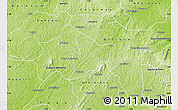 Physical Map of Bechem