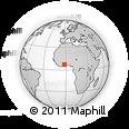 Outline Map of Bechem