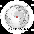 Outline Map of Awutu-Senya