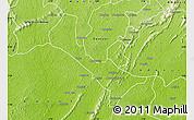 Physical Map of Denkyira