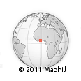 Outline Map of Denkyira