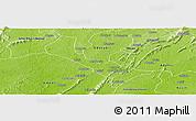 Physical Panoramic Map of Denkyira