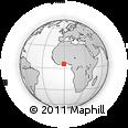 Outline Map of Gomoa-Assin-Ajumako