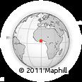 Outline Map of Winneba