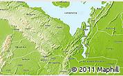 Physical 3D Map of Manya Krobo