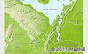 Physical Map of Manya Krobo