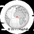 Outline Map of Manya Krobo