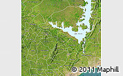 Satellite Map of Eastern
