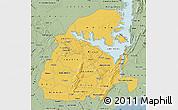Savanna Style Map of Eastern