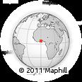 Outline Map of Yilo-Krobo-Osudoku