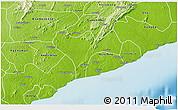 Physical 3D Map of Ga