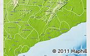Physical Map of Ga