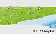 Physical Panoramic Map of Ga