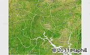 Satellite 3D Map of Northern