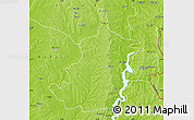 Physical Map of Bimbilla