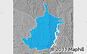 Political Map of Bimbilla, desaturated