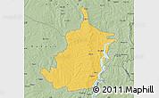 Savanna Style Map of Bimbilla
