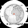 Outline Map of Bimbilla