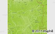 Physical Map of Gushiegu-Chereponi