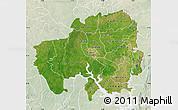 Satellite Map of Northern, lighten