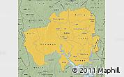 Savanna Style Map of Northern