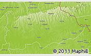 Physical 3D Map of Nalerigu