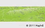 Physical Panoramic Map of Nalerigu