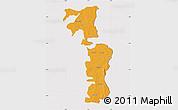 Political Map of Saboba-Zabzugu, cropped outside