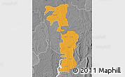 Political Map of Saboba-Zabzugu, desaturated