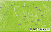 Physical 3D Map of Tolon