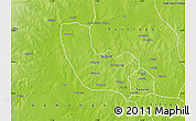 Physical Map of Tolon