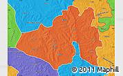 Political Map of Yendi