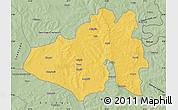 Savanna Style Map of Yendi