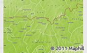 Physical Map of Bongo-Nabdam
