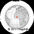 Outline Map of Bongo-Nabdam